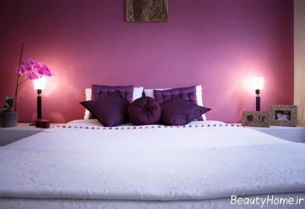 دکوراسیون زیبا و خاص اتاق خواب عروس