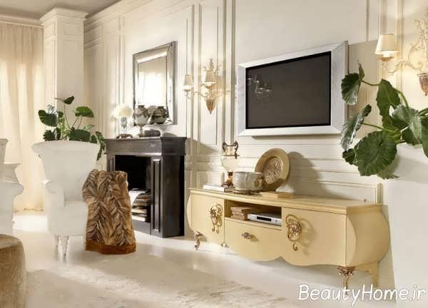مدل میز تلویزیون باشکوه کلاسیک