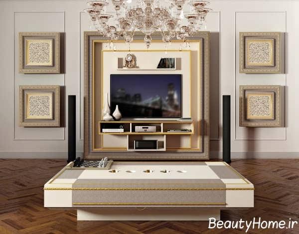 مدل میز تلویزیون خاص کلاسیک