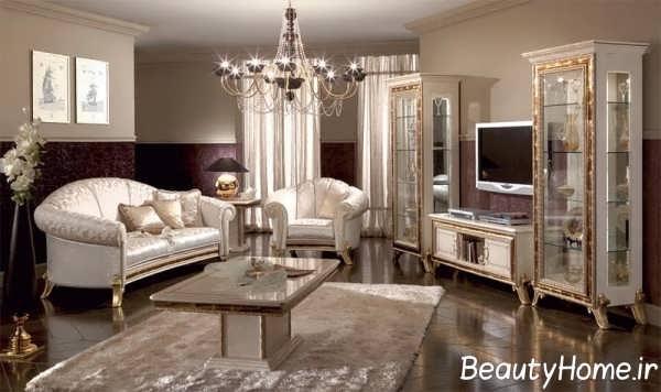 انواع مدل میز تلویزیون شیک کلاسیک