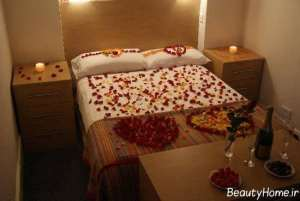 تزیین شیک و جذاب تخت خواب