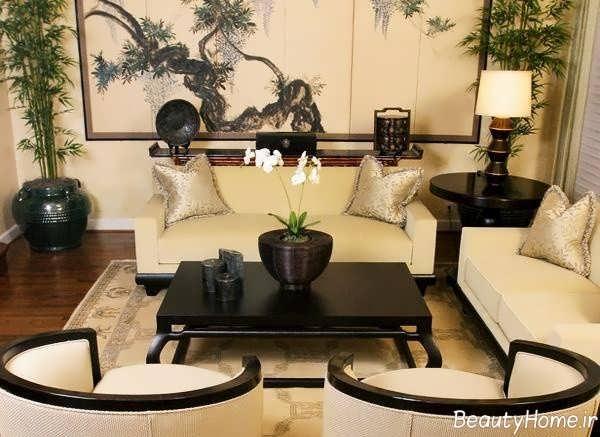 طراحی اتاق پذیرایی با اصول فنگ شویی