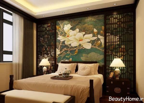 دکوراسیون خاص و زیبا اتاق خواب