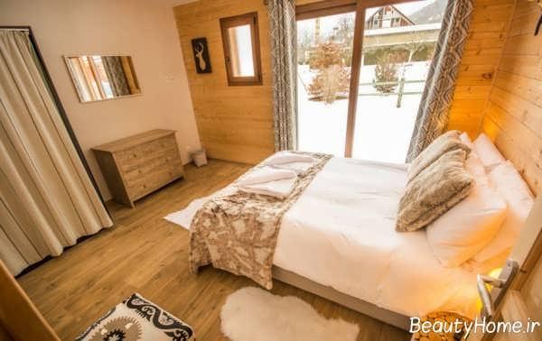 دکوراسیون داخلی اتاق خواب گرم