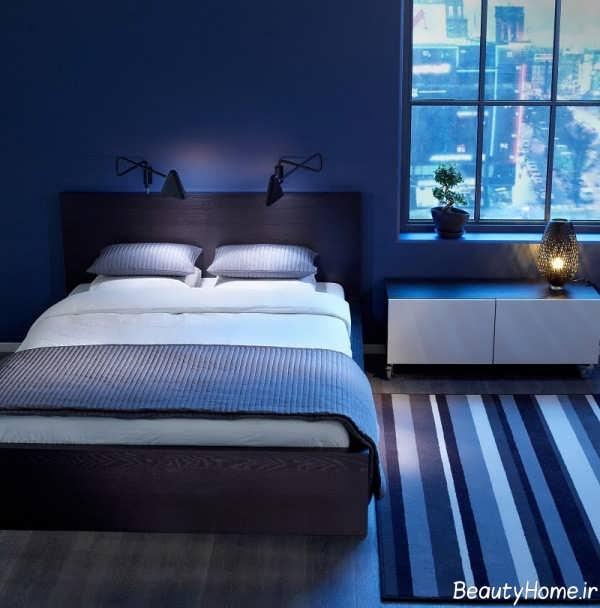 دیزاین دکوراسیون داخلی اتاق خواب گرم