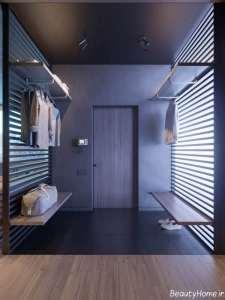 طراحی زیبا و کاربردی خانه ال شکل