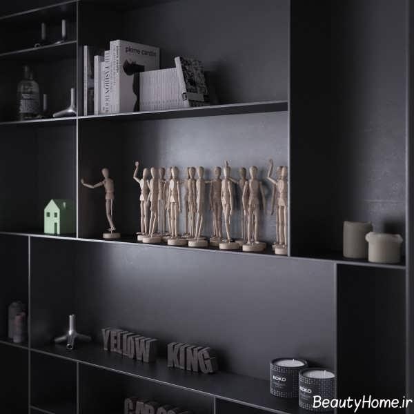 دیزاین داخلی خانه ال
