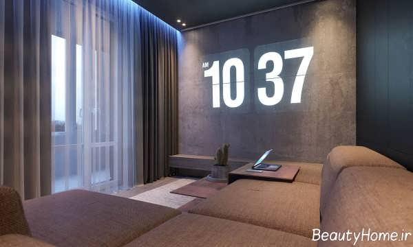 طراحی داخلی زیبا و مدرن اتاق نشیمن