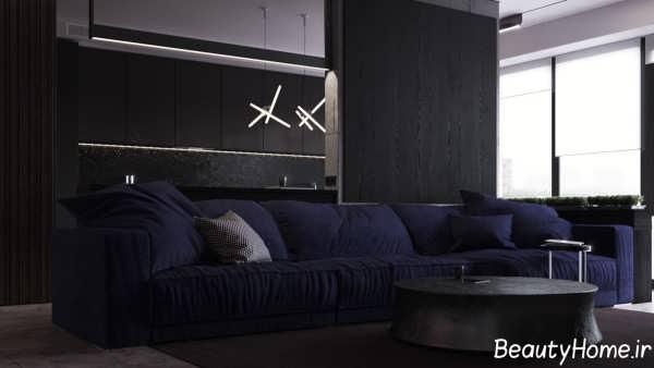 طراحی خانه ال شکل زیبا