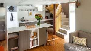 طراحی داخلی آشپزخانه کوچک