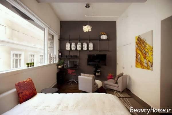 دکوراسیون زیبا و خاص خانه کوچک