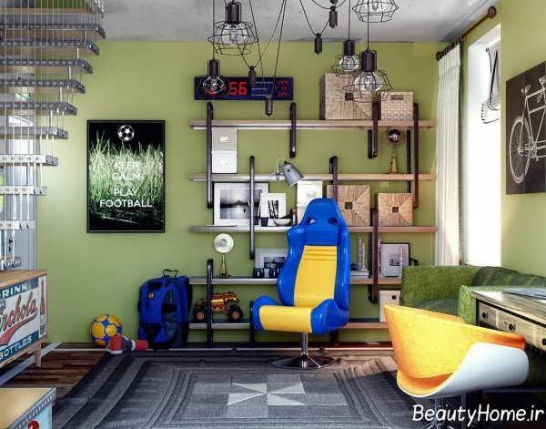 دکوراسیون زیبا و شیک اتاق نوجوان