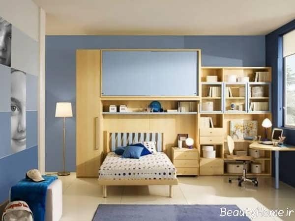 بهترین طراحی داخلی و ترکیب رنگ اتاق جوانان