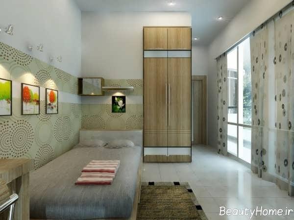 طراحی داخلی بی نظیر اتاق جوانان پولدار