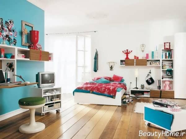 طراحی داخلی امروزی اتاق جوانان