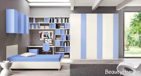 تصاویر دیزاین داخلی اتاق جوانان