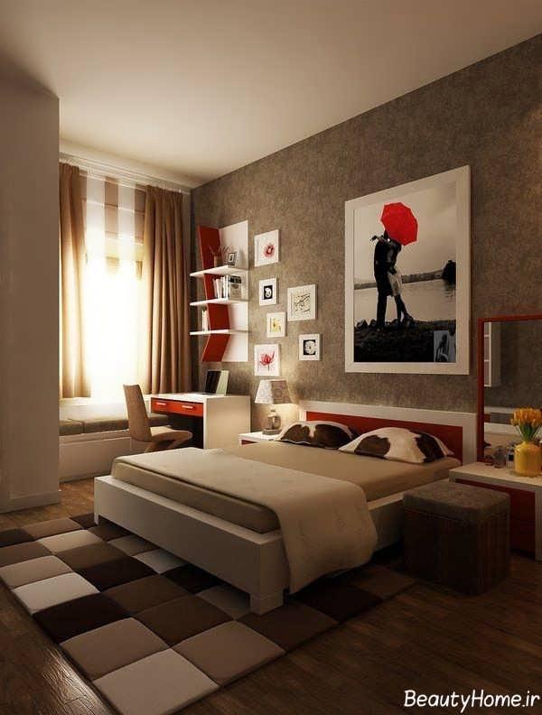 طراحی داخلی و تابلوها در اتاق جوانان
