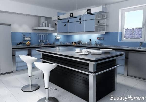 دکوراسیون مدرن و زیبا آشپزخانه