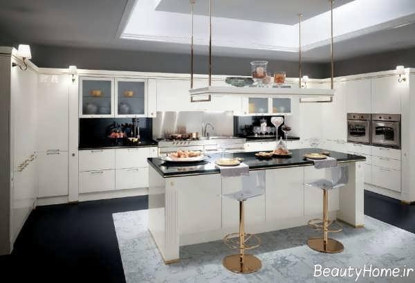 طراحی داخلی آشپزخانه ایتالیایی