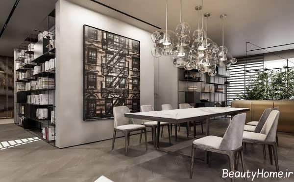 طراحی خانه لاکچری و مدرن