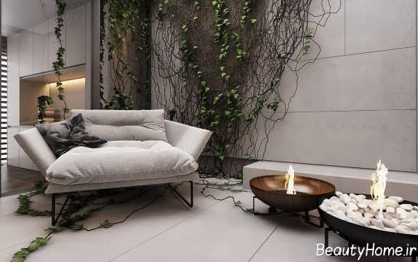 طراحی داخلی خانه لاکچری