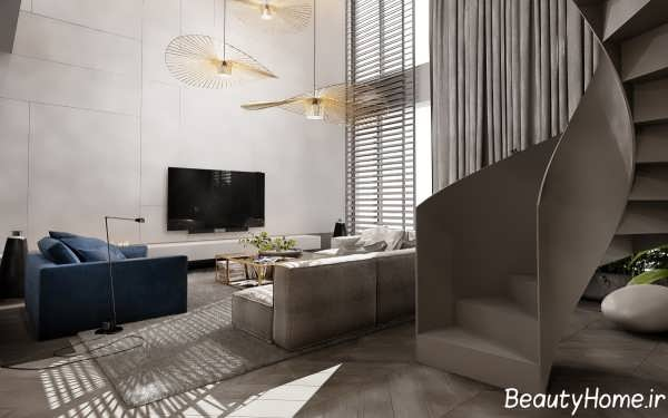 طراحی اتاق نشیمن لاکچری