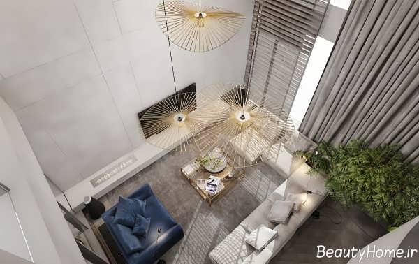 دیزاین داخلی خانه لاکچری