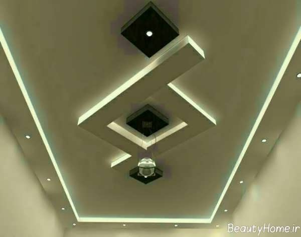 مدل کناف زیبا برای سقف پذیرایی