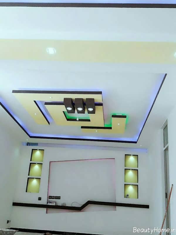مدل کناف زیبا و جدید برای سقف
