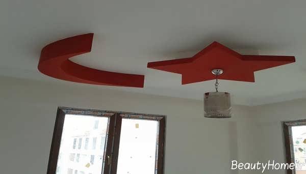 مدل کناف زیبا برای سقف