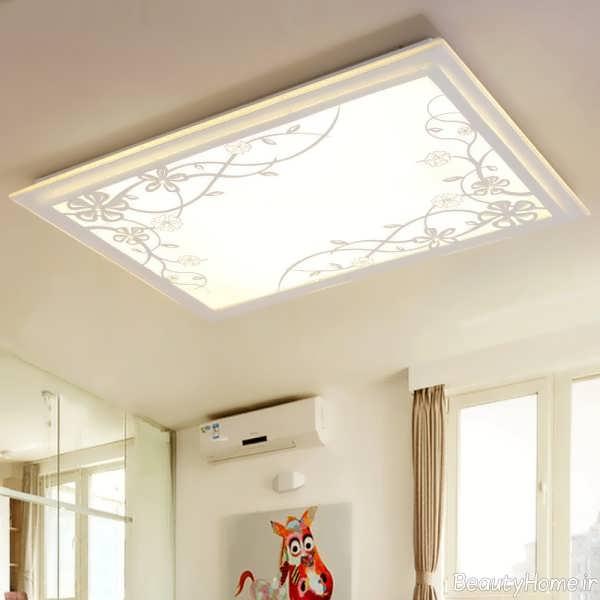 مدل کناف زیبا برای سقف سالن پذیرایی