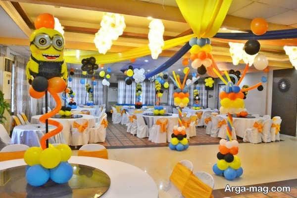 تزیین جشن تولد برای کودکان