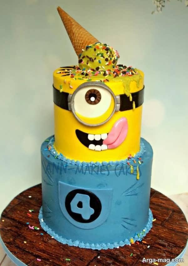 تزیین کیک تولد دخترانه و پسرانه