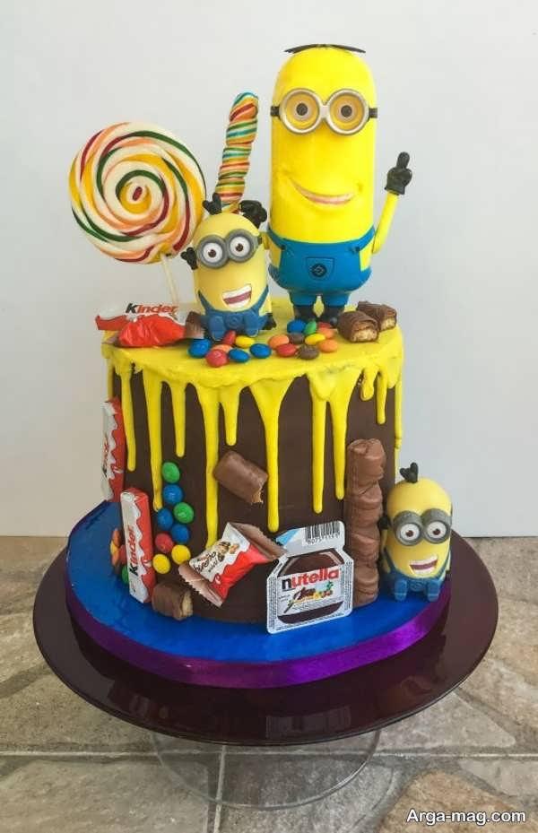 تزیین زیبا و خاص کیک تولد