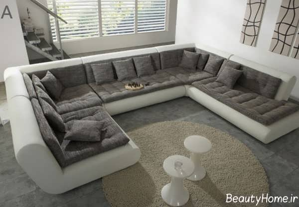 Leather Sectional Couch Light Brown