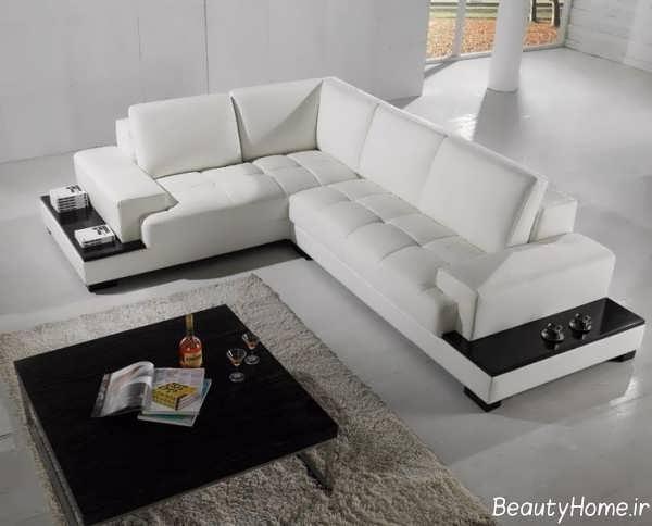 مدل مبل سفید و شیک