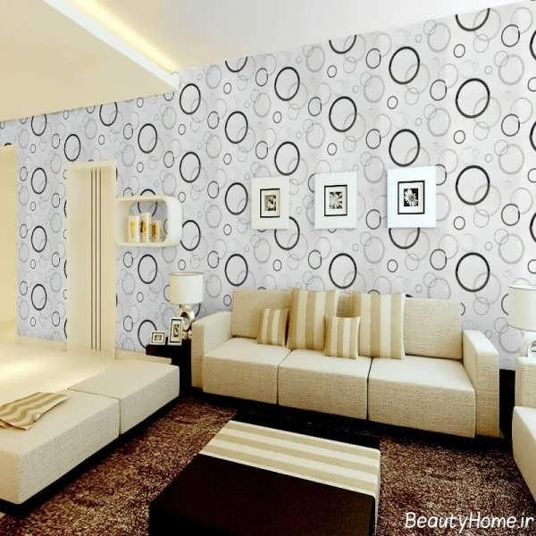 مدل کاغذ دیواری مدرن و شیک