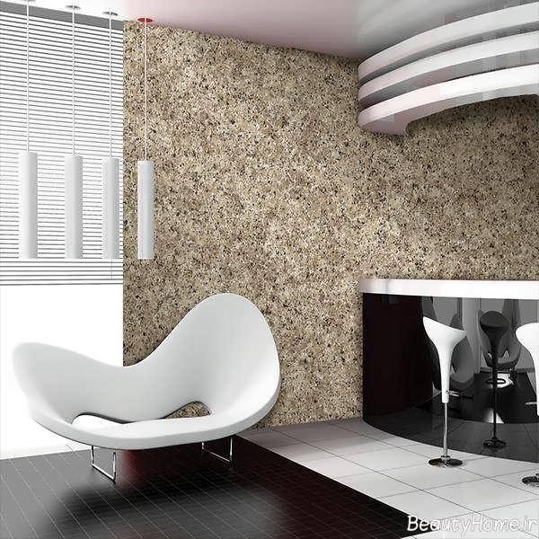 مدل کاغذ دیواری شیک و جذاب برای اتاق پذیرایی