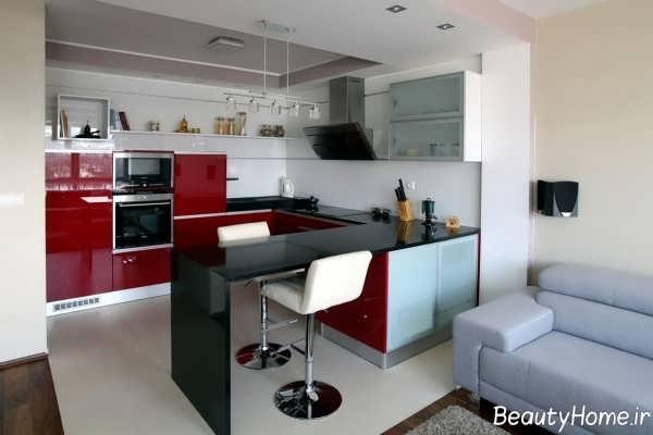 دکوراسیون آشپزخانه مدرن و امروزی