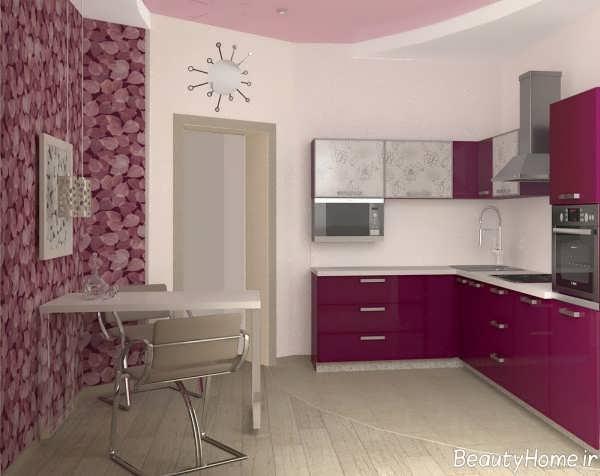 طراحی زیبا و جالب آشپزخانه