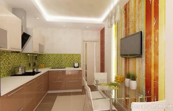 دکوراسیون داخلی آشپزخانه جدید و مدرن