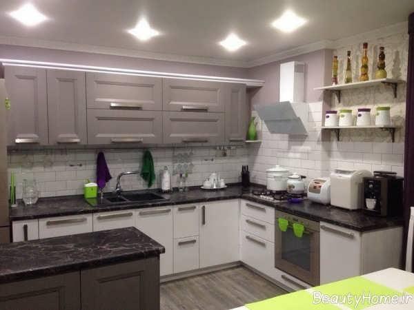 طراحی داخلی زیبا و جالب آشپزخانه