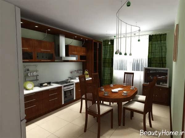 دکوراسیون آشپزخانه معمولی شیک و خاص