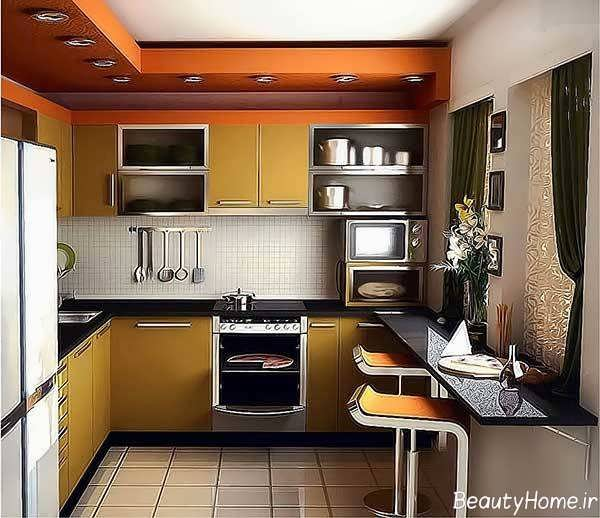 دکوراسیون مدرن و جدید آشپزخانه