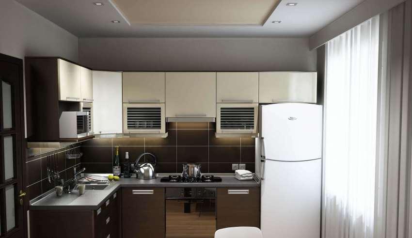 طراحی دکوراسیون آشپزخانه معمولی
