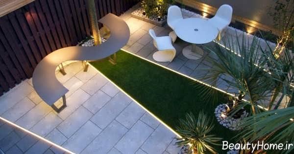 باغ در بام