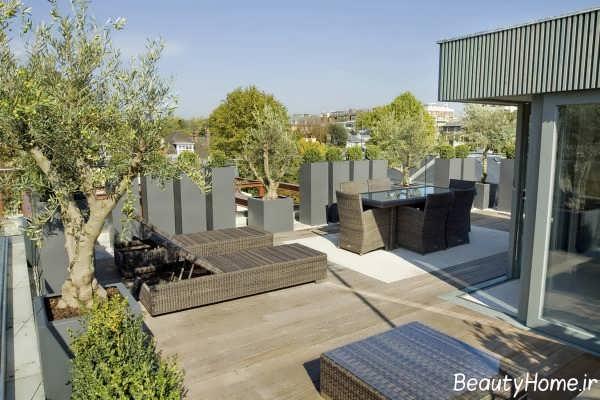 طراحی داخلی کاربردی و شیک بام باغ