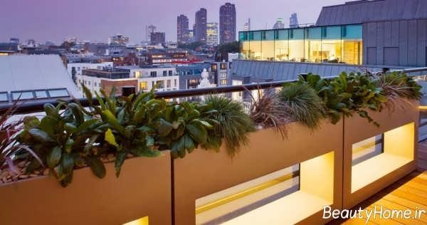 طراحی دکوراسیون بام در باغ