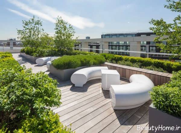 طراحی بام باغ