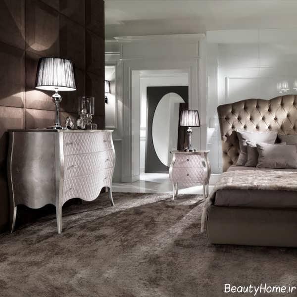 دکوراسیون زیبا و مجلل اتاق خواب